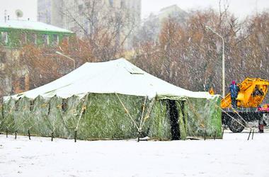 Непогода в Днепре: где можно согреться, и какие неприятности принесли горожанам холода