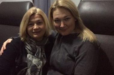 Геращенко и Черныш отправились на Донбасс