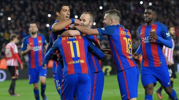 Кубок Испании: Барселона вырвала победу уАтлетика