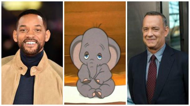 Уилл Смит иТом Хэнкс могу сниматься в кинофильме про слоненка Дамбо