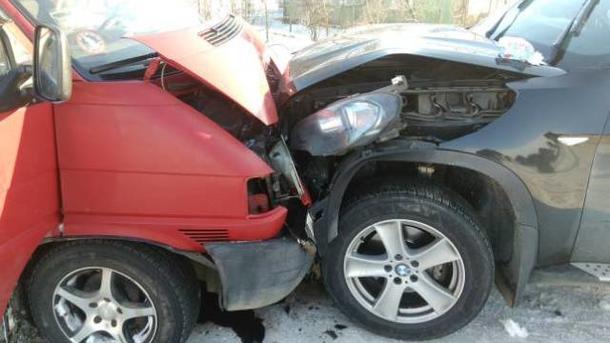 На месте аварии. Фото: lv.npu.gov.ua