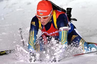 Пидгрушная не сумела удержать медаль в эстафете на Кубке мира