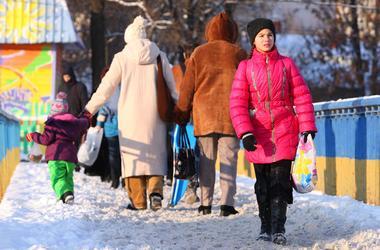 На выходных в Украину придет потепление