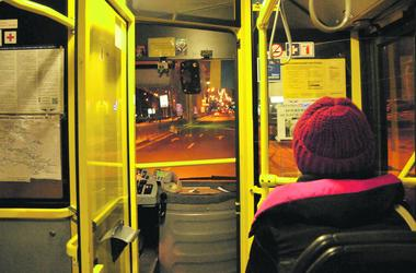 Night trolleybus in Kiev: poems for the beloved, champagne and soapery
