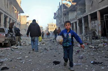 В столице Сирии произошел теракт, есть погибшие