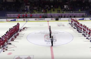 Российский гимн освистали на молодежном чемпионате мира в Чехии