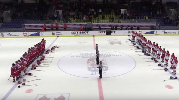 Хоккеистки сборных Российской Федерации иЧехии подрались наматче молодёжногоЧМ
