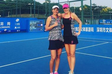Украинка Савчук в паре с румынкой Олару сразится за трофей в Австралии