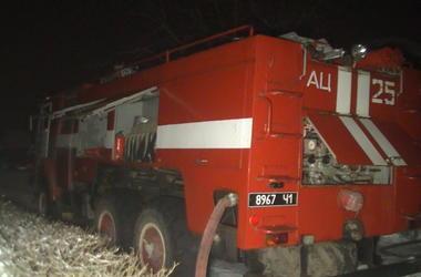 Под Харьковом прохожие спасали людей из горящего дома