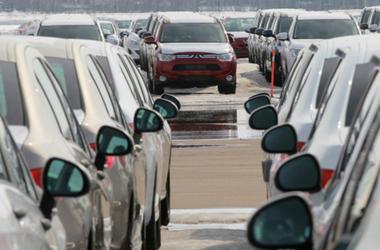 Ryska bilmarknaden nått