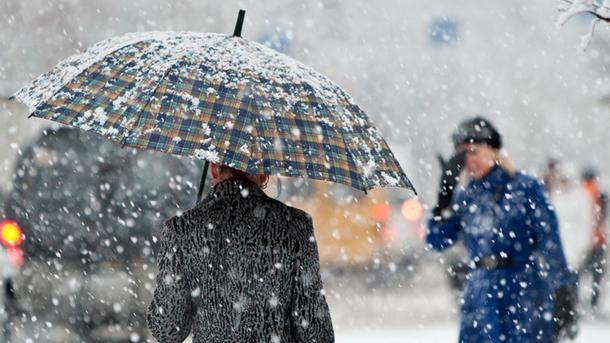 Ввоскресенье вЛипецке мокрый снег