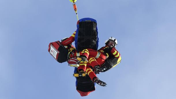 Итальянская горнолыжница вылетела с дороги наскорости 100 километров вчас