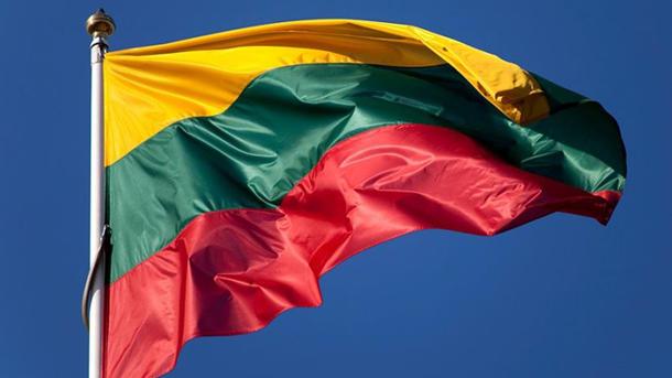 Неизвестные забросали яйцами торгпредставительство РФ вВильнюсе