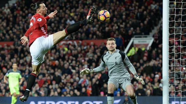 Битва английских гигантов: «Манчестер Юнайтед» и«Ливерпуль» сыграли вничью