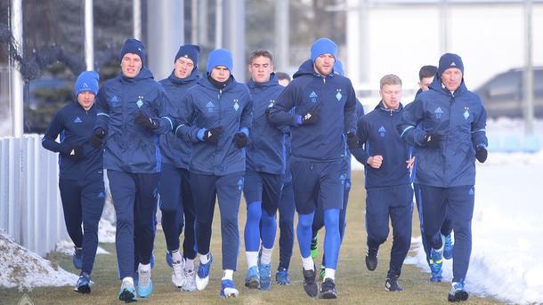 Ребров взял насбор «Динамо» семь учеников