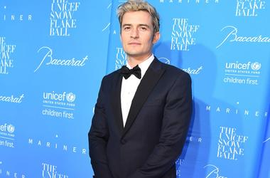 Orlando bloom celebrated his 40th anniversary in the company of Jennifer aniston and Katy Perry