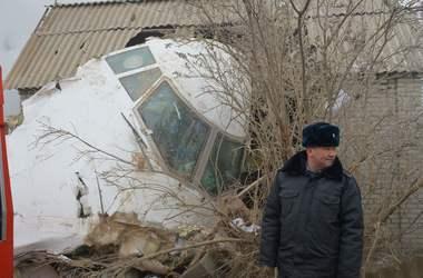 Первые кадры с места крушения турецкого самолета в Киргизии