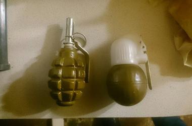 Под Одессой в частном доме нашли арсенал оружия