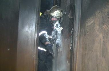 В страшном пожаре в Харькове погибла пожилая женщина