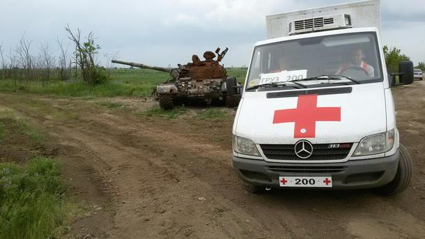 НаМариупольском направлении боевики стреляли из82мм минометов