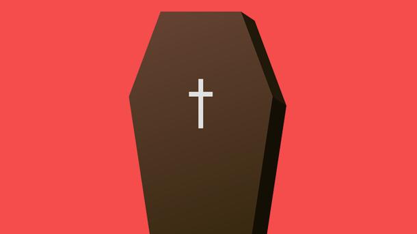 Пенсионер спасся отпогребения живьем, отодвинув крышку гроба