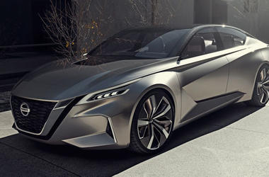 Nissan презентовал стильный концепт седана на автошоу в Детройте