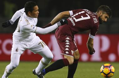 AC Milan snatched a draw in the match with Torino, losing 0:2