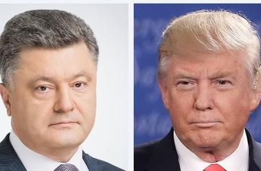 Poroshenko said that he agreed to meet with trump