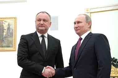 Putin met with Dodon