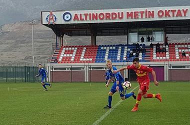 Голы матча Украина - Черногория на Кубке Эгейского моря