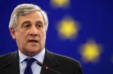 Таяни назвал главные задачи на посту главы Европарламента