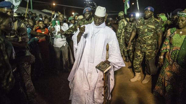 ВГамбии введено чрезвычайное положение