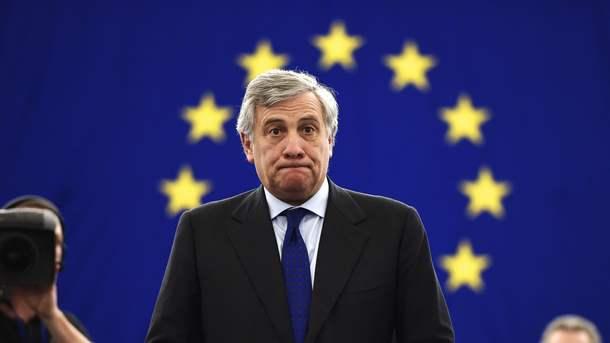 Новый председатель Европарламента Таяни определил свои задачи