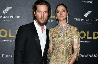 Matthew McConaughey has told how family life helped him to gain 20 kg for new role