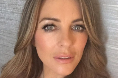 51-year-old Elizabeth Hurley in swimsuit surprised by an excellent figure