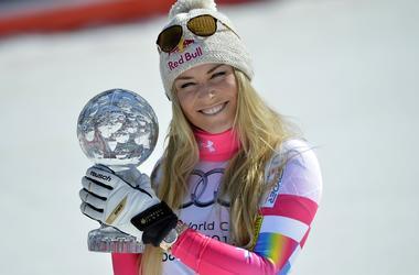 Горнолыжница Линдси Вонн хочет на Олимпиаде-2018 соревноваться с мужчинами