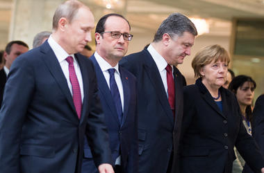The Kremlin said that Putin, Merkel and Hollande have agreed to give additional impetus to