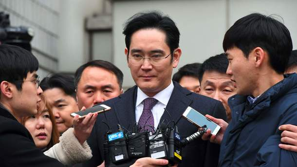 Суд вЮжной Корее отвергнул запрос обаресте вице-президента Самсунг
