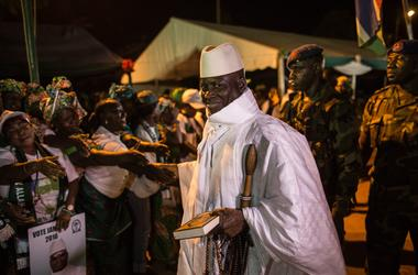 Senegal and Nigeria have issued an ultimatum to the President of the Gambia and prepare for invasion