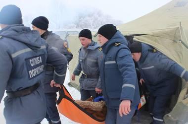 В Черкассах женщина окунулась в прорубь и потеряла сознание