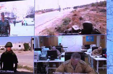 Российских военных обстреляли в Алеппо во время видеосвязи с Москвой