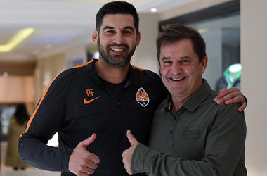 Shakhtar at training camp visited the coach of Ukraine national team and the Spanish press