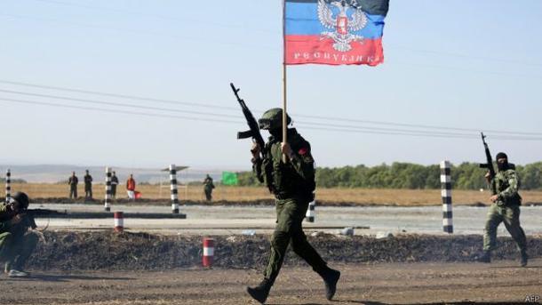 За прошедшие сутки боевики 33 раза обстреляли позиции ВСУ наДонбассе,— штаб