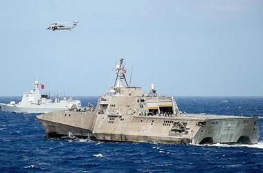 Япония, Южная Корея и США вывели военные корабли к берегам КНДР