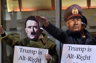 В США происходят массовые протесты против инаугурации Трампа