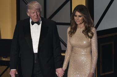 Первый выход в свет будущей первой леди США Меланьи Трамп