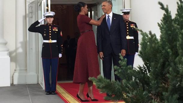 Обама иТрамп перед инаугурацией поприветствовали друг дружку