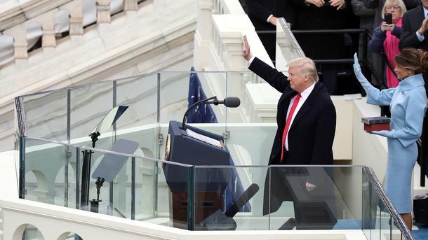 Трамп: Мыбудем определять курс Америки имира большое количество лет