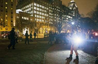 Беспорядки в Вашингтоне: полиция задержала 217 человек