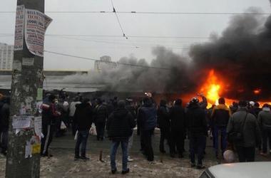 """В Одессе горел """"Привоз"""""""